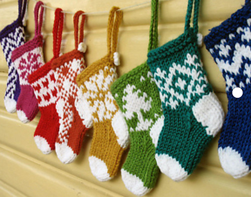 Christmas  in July Stocking Making
