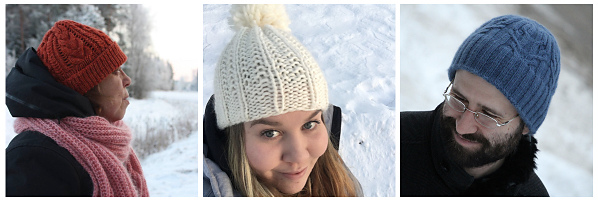 hats in the snow 3